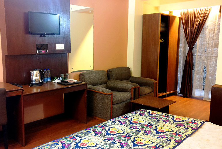 deluxe rooms in gangtok